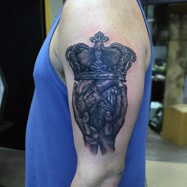 50 Claddagh Tattoo Designs For Men Irish Icon Ink Ideas
