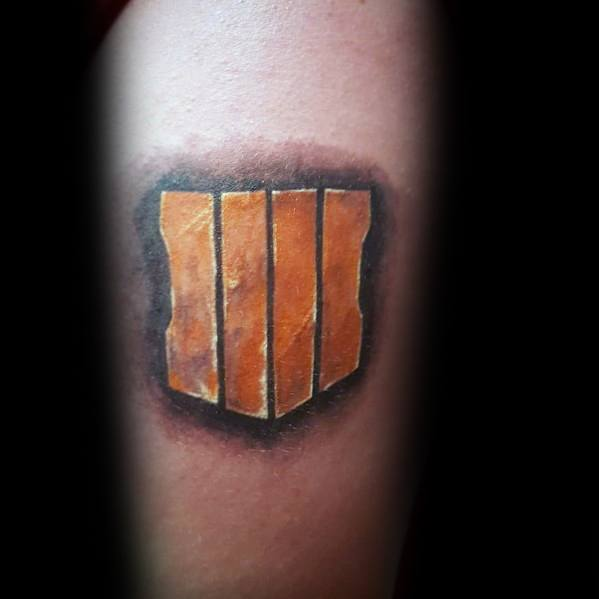 40 Call Of Duty Tattoo Ideas For Men Video Game Designs
