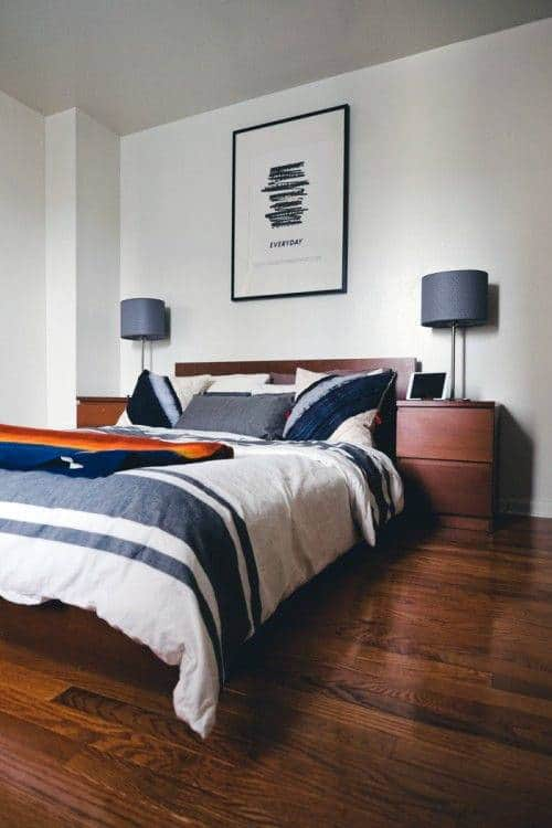 Men's Black Bedroom Ideas