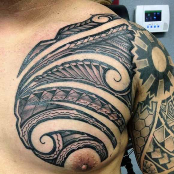 60 Hawaiian Tattoos For Men - Traditional Tribal Ink Ideas