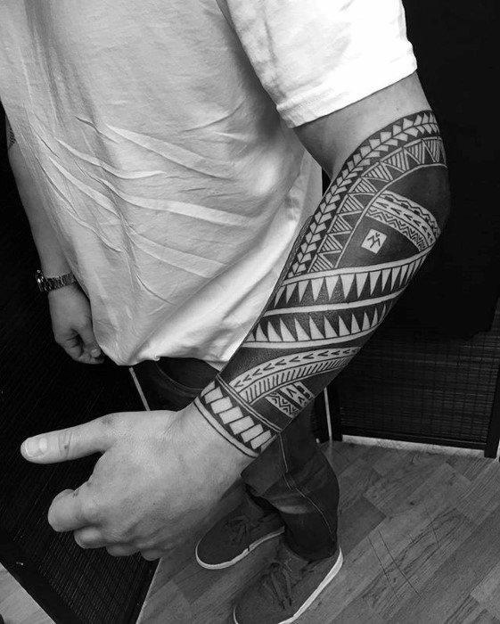 Tribal Forearm Tattoo Filipino 2019