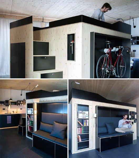 Nice Studio Apartment Interior Ideas