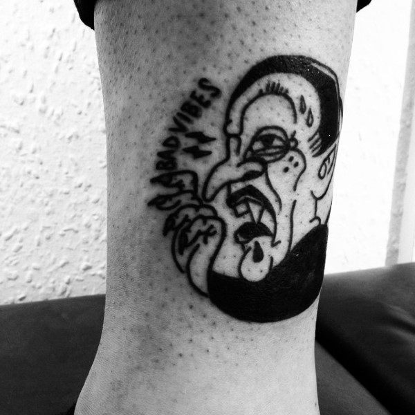 New Tattoo School Zombie Coffin