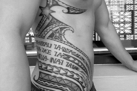 tribal tattoos on the side » Electronic Wallpaper | Electronic Wallpaper