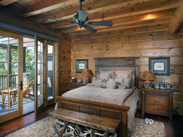 Top 100 Best Rustic Bedroom Ideas Vintage Designs