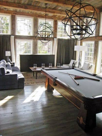 Narrow Pool Table Rooms
