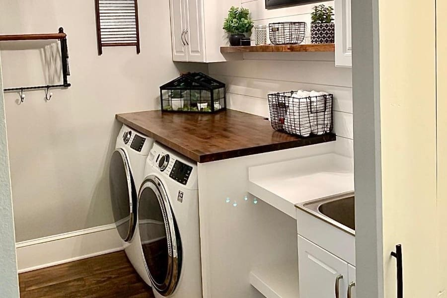 The Top 64 Small Laundry Room Ideas Interior Home And Design Next Luxury