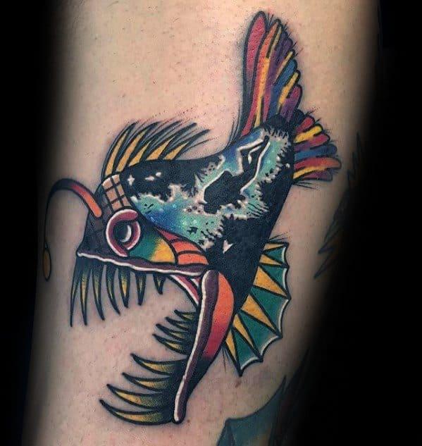 Angler Fish Real Colorful