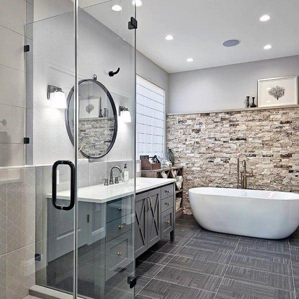 the top 100 bathroom floor tile ideas