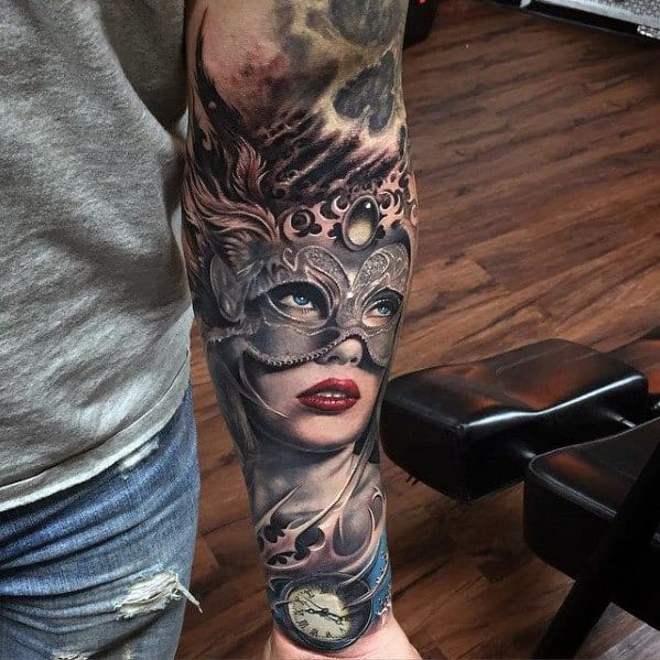 Tattoo Half Sleeve Ideas For Men