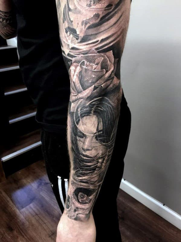 Tattoo Sleeve Ideas For Black Men