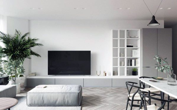 Living Room Television Designs