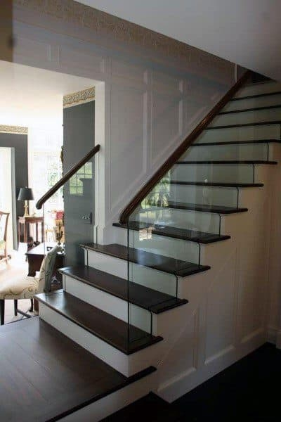Top 70 Best Staircase Ideas Stairs Interior Designs   Outdoor Steps Design For House   Metal   Farm House Wide Front Porch   Handrail   Outdoor Walkway   Fancy