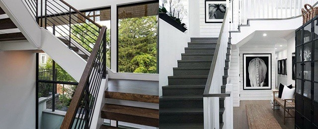 Top 50 Best Wood Stairs Ideas Wooden Staircase Designs   Best Wood For Indoor Stairs   Laminate Flooring   Stair Parts   Glass   Stair Risers   Anti Slip