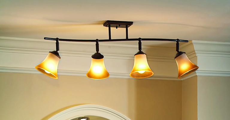 how to remove track lighting next