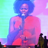 """NN Events: Wizkid, Praiz, Tiwa Savage, Onyeka Onwenu, Seyi Shay and more at Oriental Hotel for the Omawumi's album launch """"The lasso of Truth"""" - Red Carpet Photos"""