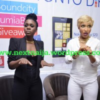 Photo Gallery: Tonto Dike, Olamide, Burna Boy,Seyi Shay, Clarence Peters, Wande Cole, Chidinma,illbliss , Sound Sultan & More Stars attend Nokia LumiaBeat Party in Lagos