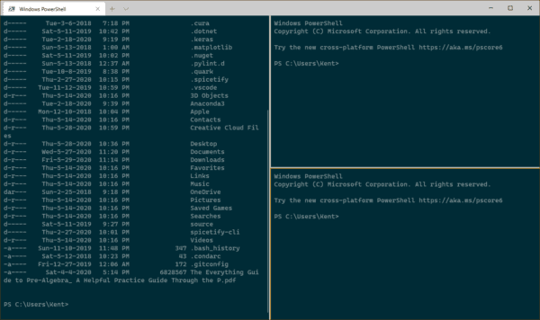 image 6 600x356 - Windows Terminal 1.0 Released