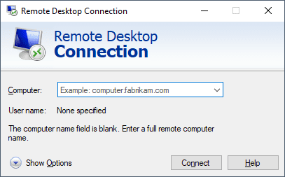 2020 08 30 23 21 22 Remote Desktop Connection - Troubleshoot and Improve RDP Connections with UDP