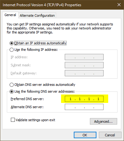 image 3 - How To Enable DNS over HTTPS (DoH) on Windows 10 or Edge Chromium
