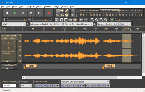 Audacity 600x384 - How To Reduce Background Noise on An Audio File on Windows