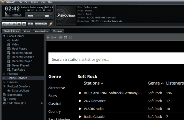 image 2 600x391 - Winamp 5.8 Released for Windows 10