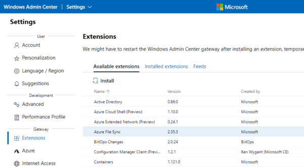 image 5 600x330 - Windows Admin Center to Simplify Server and Windows 10 Desktop Management