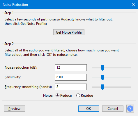 image 7 - How To Reduce Background Noise on An Audio File on Windows