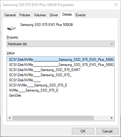 image 15 - How To Tell If My Windows 10 SSD Drive is SATA or NVMe Based