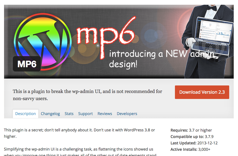 MP6 on the plugin directory.