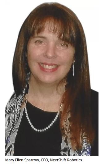 MaryEllenSparrow,CEO,NextShiftRobotics