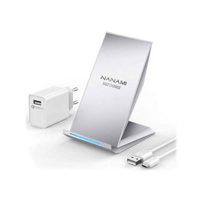 NANAMI Fast Wireless Charger silver