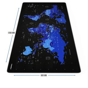 CSL Titanwolf Gaming Mouse pad XXL World Map