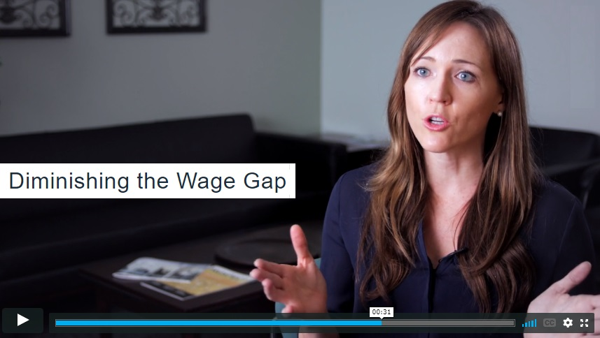 diminishing the wage gap
