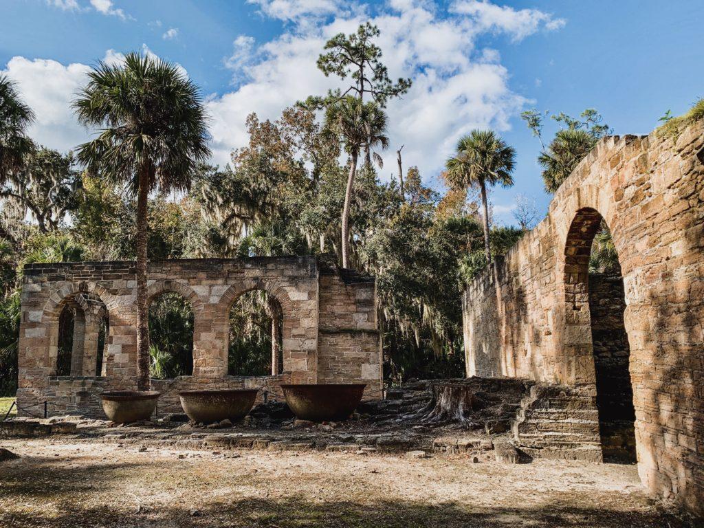 new smyrna beach sugar mill ruins