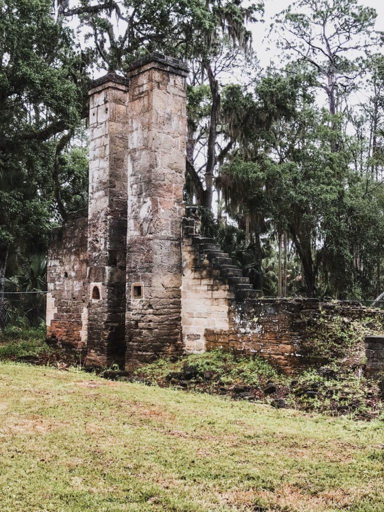 Dummit plantation mill ruins