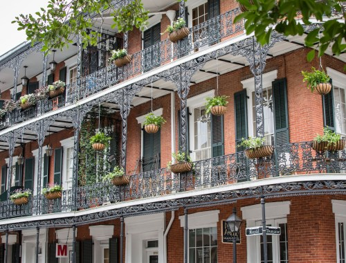 iconic buildings of New Orleans