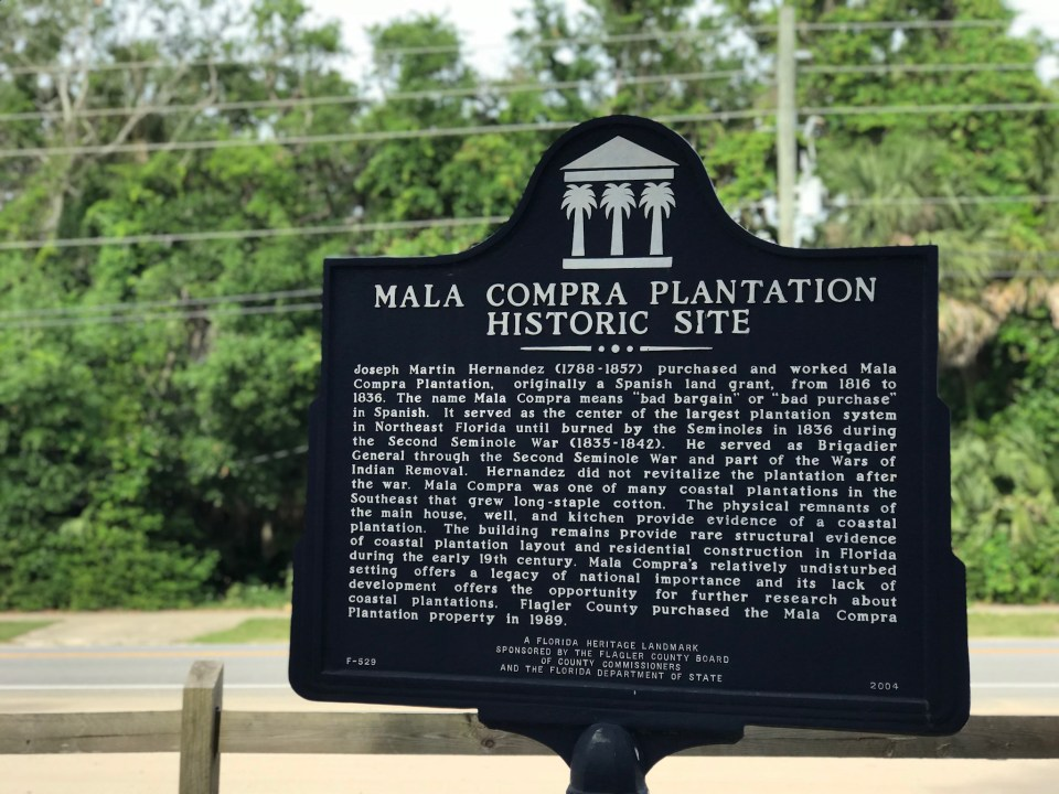 historic sites in Central Florida Mala Compra Plantation-Next Stop Adventures