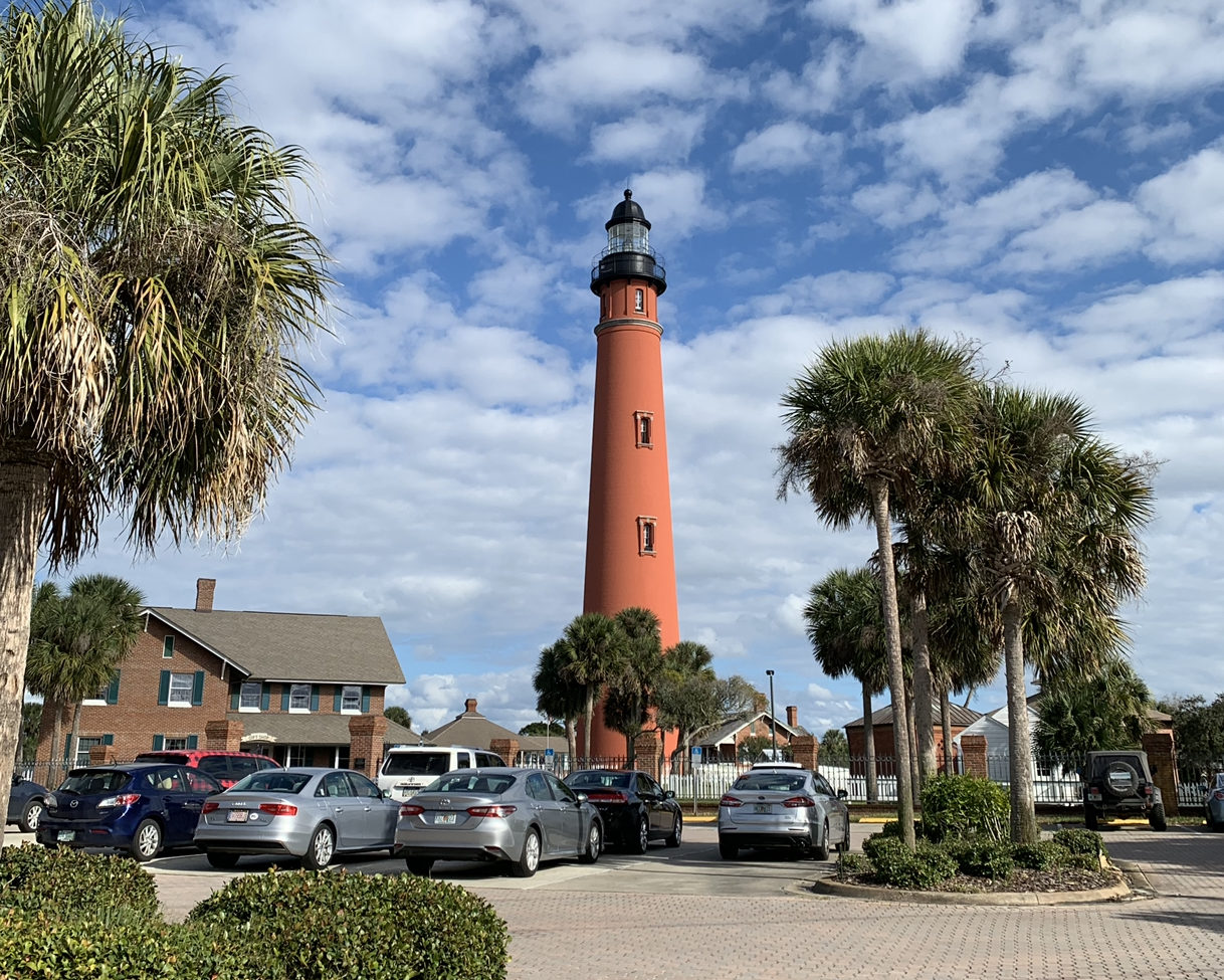 Florida Lighthouse in Ponce Inlet