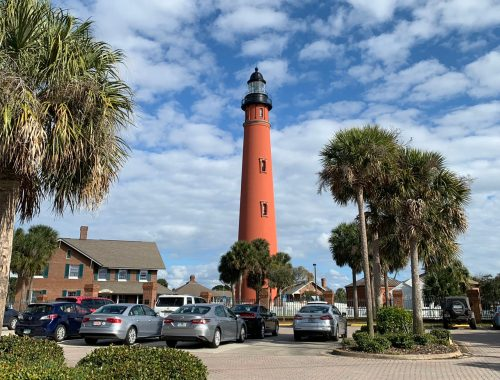 historic sites in Central Florida Ponce Inlet Lighthouse-Next Stop Adventures