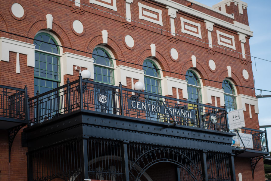 Ybor City historic buildings