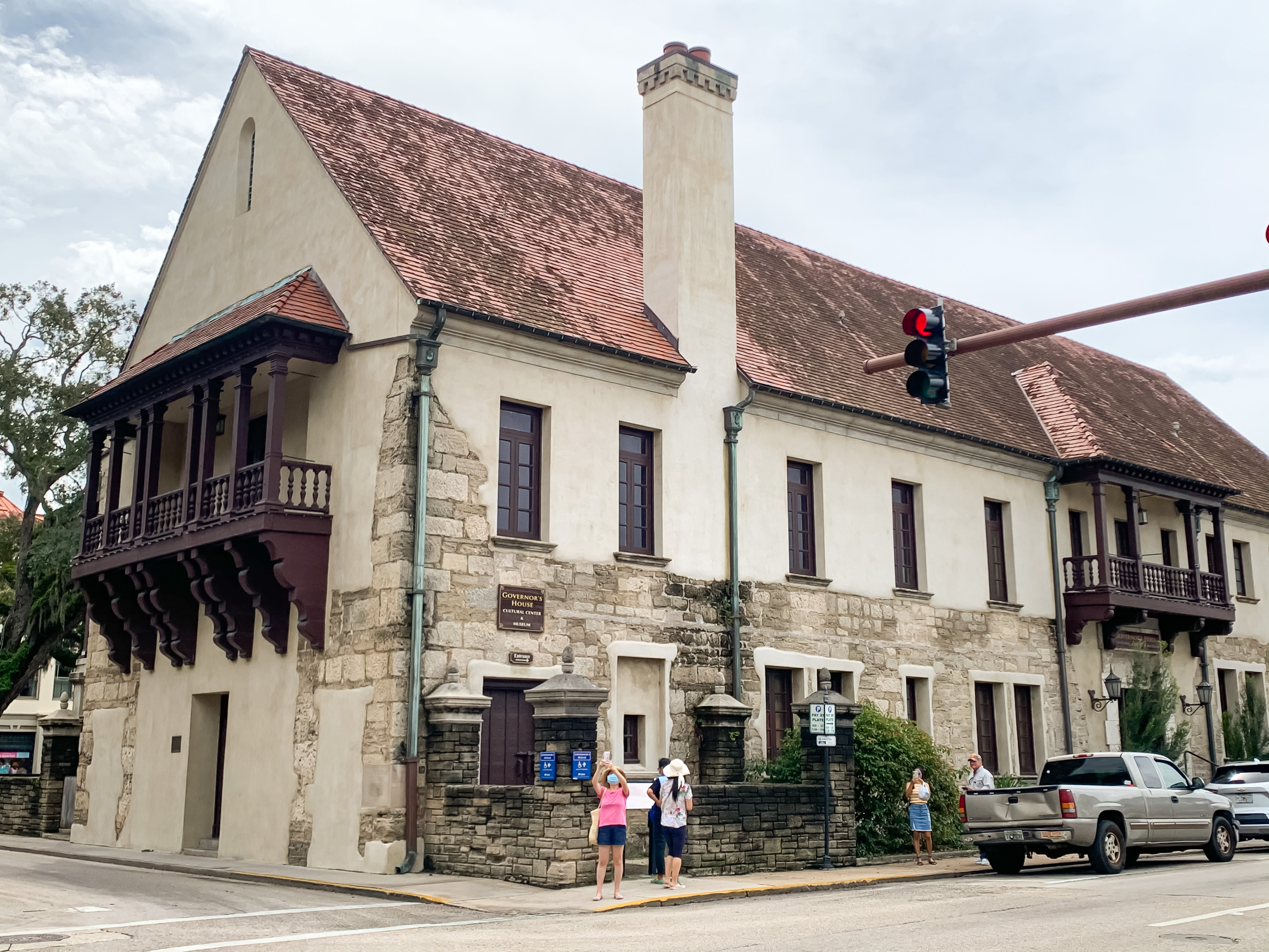 governors house in Saint Augustine Florida one of top outdoor adventures