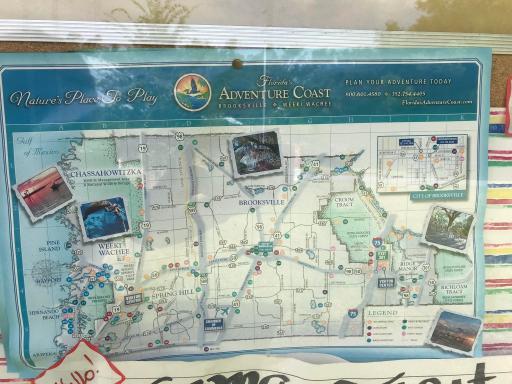 Florida's Adventure Coast Map