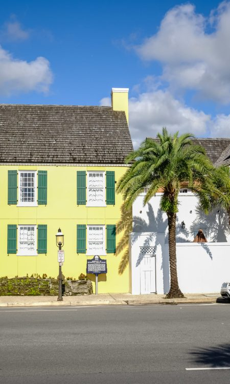 st augustine self-guided-walking tour