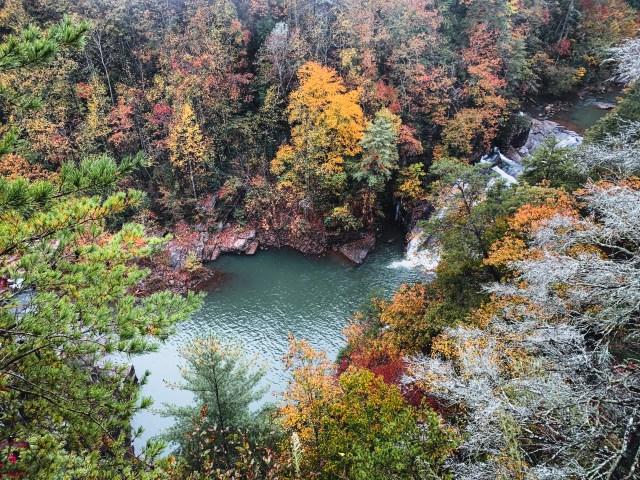 Tallulah Gorge State Park in Georgia