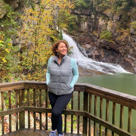 hiking suspension bridge of tallulah gorge state park