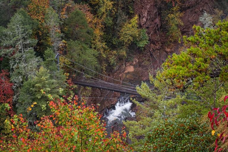 Tallulah Gorge Suspension Bridge