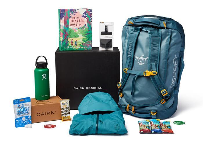 Cairn outdoor subscription boxes gift ideas for hiking lovers