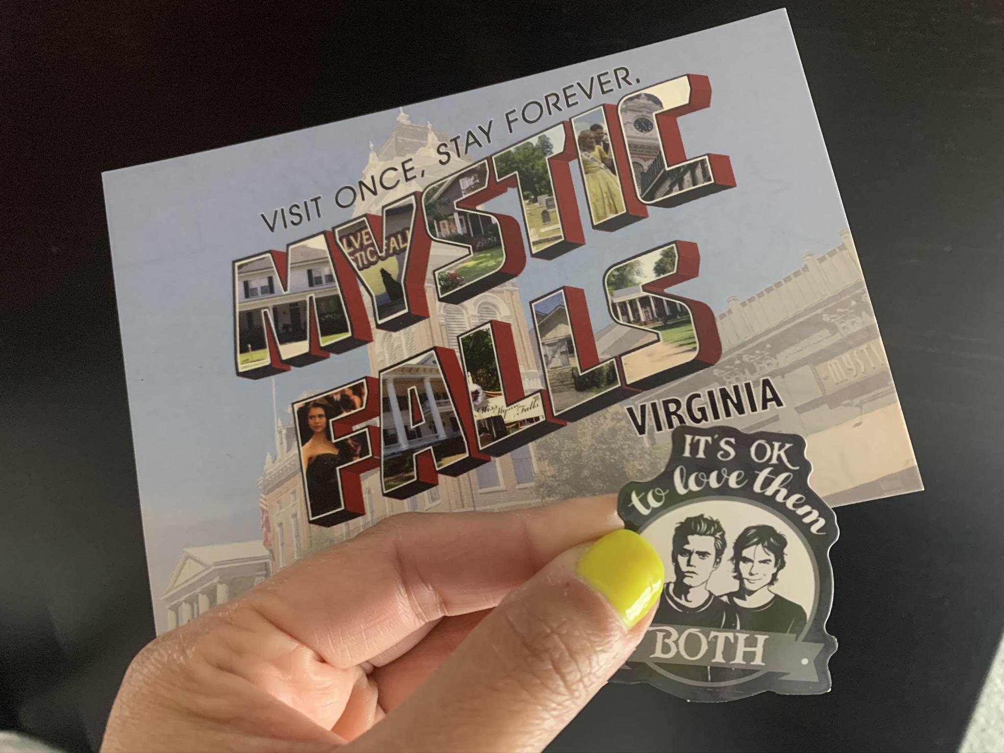 mystic falls postcard