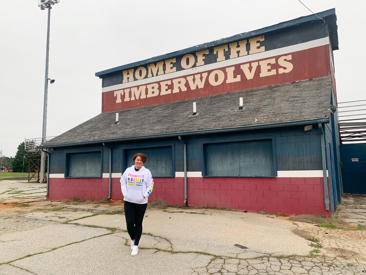Mystic Falls high school home of the Timberwolves
